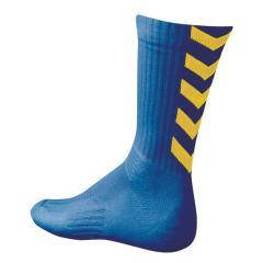 Chaussettes Hummel Indoor Elite bleu roy/jaune