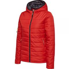 Doudoune  HmlNorth Quilted Hood Lady rouge