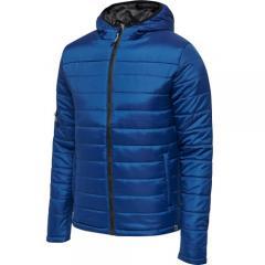 Doudoune  HmlNorth Quilted Hood JR bleu royal