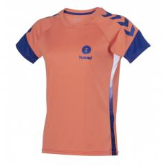 maillot Campaign Lady corail/marine