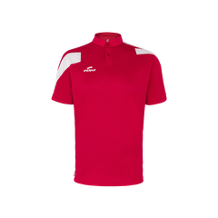 Polo Action rouge/blanc