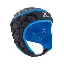 Casque Falcon noir/diva blue JR
