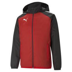 All weather jacket JR rouge/noir