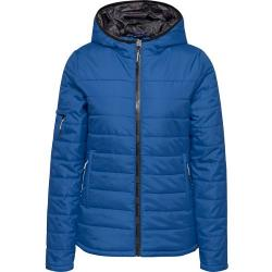 Doudoune  HmlNorth Quilted Hood Lady bleu royal