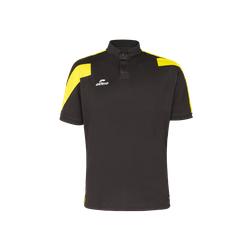 Polo Action noir/jaune
