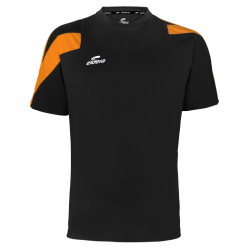 Teeshirt Action noir/orange